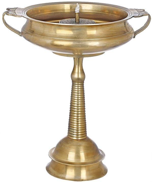 Large Wick Lamp