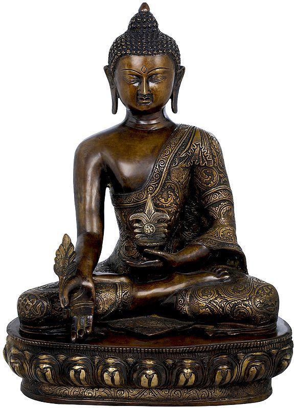 Tibetan Buddhist Deity Medicine Buddha  (Healing Buddha)