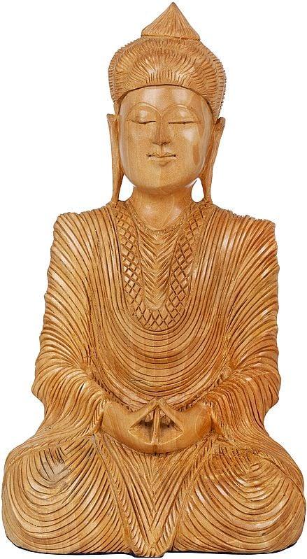 Seated Japanese Buddha