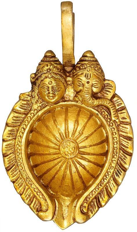 Lakshmi Ganesha Diya