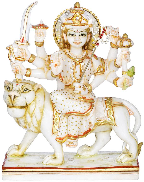 Eight Armed Simhavahini Durga