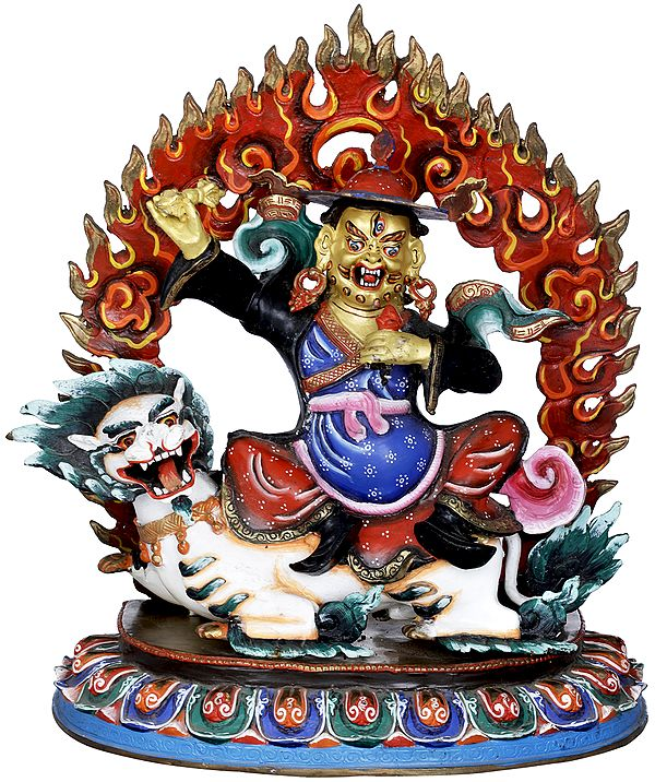 Dharmapala Of The Dorje Shugden
