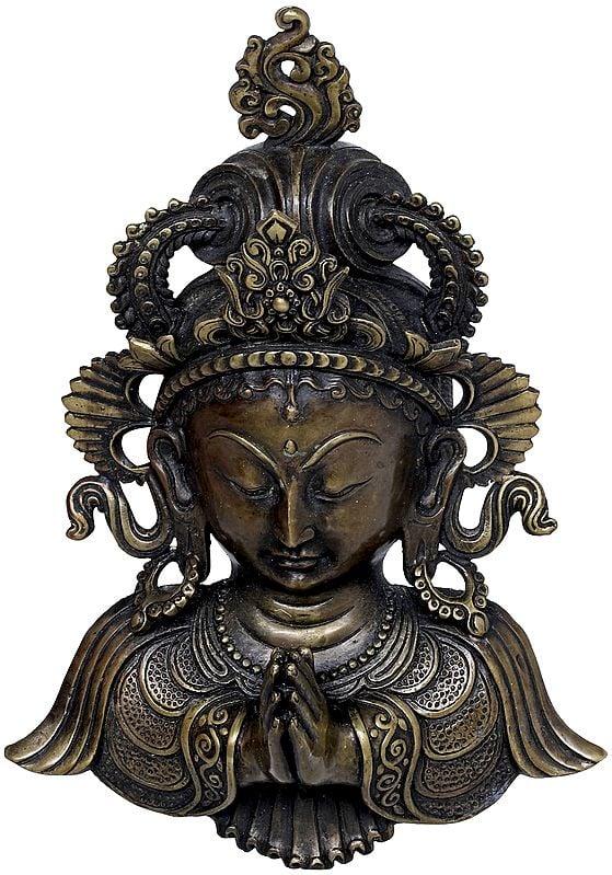 Namaste Tara Wall Hanging - Tibetan Buddhist Deity