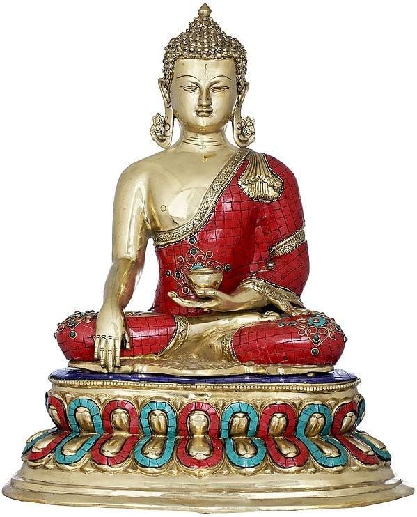 The Radiant Buddha, Seated on Double Lotus (Tibetan Buddhist)