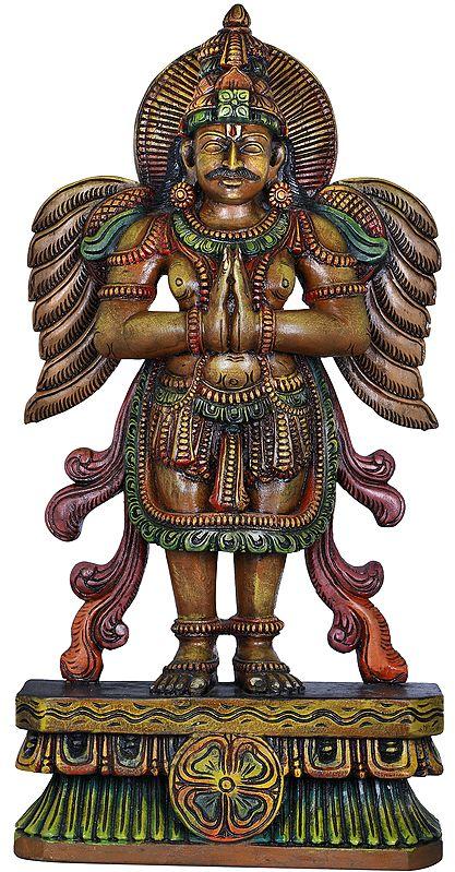 Haloed Namaskaram Garuda