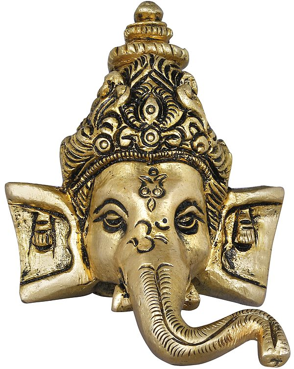 Small Ganesha mask - Wall Hanging