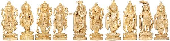 Dashavatara - The Ten Incarnations of Lord Vishnu