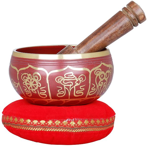 Vishva-Vajra Singing Bowl - Tibetan Buddhist