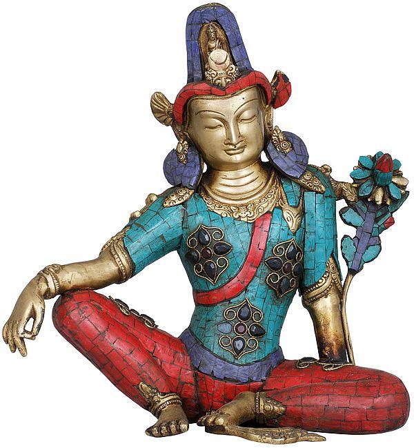 Tibetan Buddhist Seated Avalokiteshvara