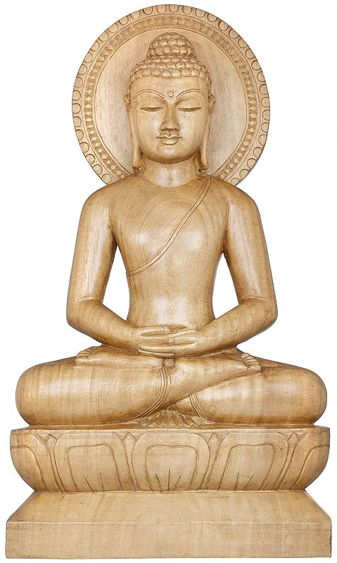 Lord Buddha in Deep Meditation - Tibetan Buddhist