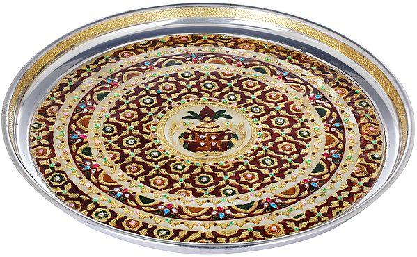Large Kalasha Puja Thali