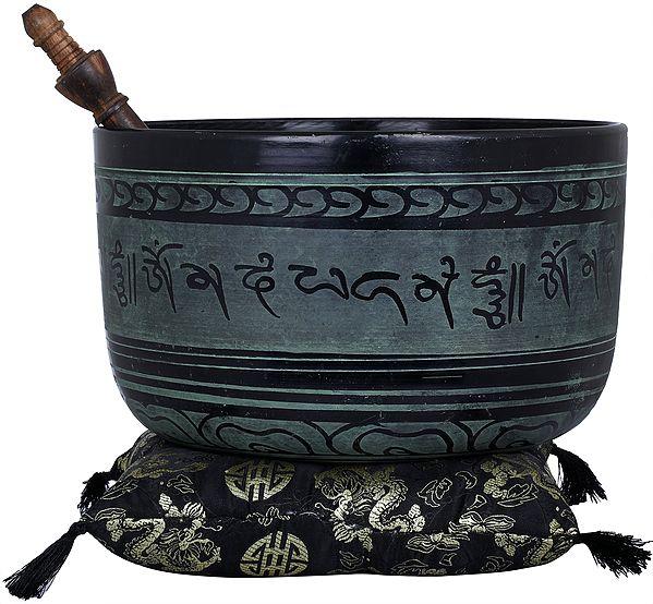 Lord Buddha Singing Bowl with Auspicious Mantras