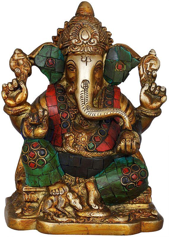Seated Lord Ganesha