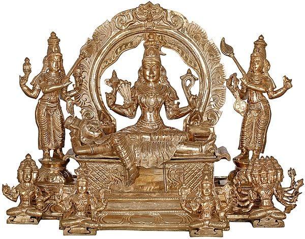 Sachamara Rama Vani Savya Dakshina Sevita (From Lalita Sahasranama)