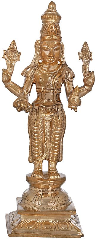 Bhagawan Vishnu as Dhanvantari - The Physician of the Gods