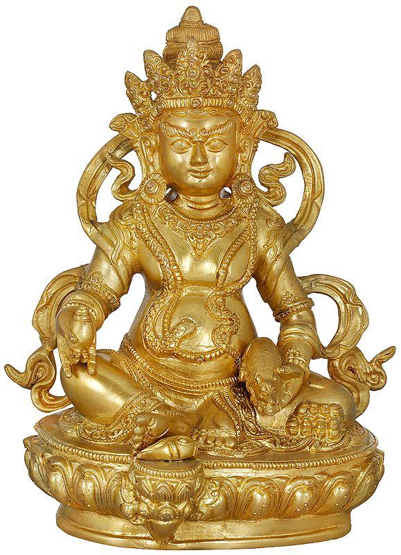 Tibetan Buddhist God Of Wealth - Kubera
