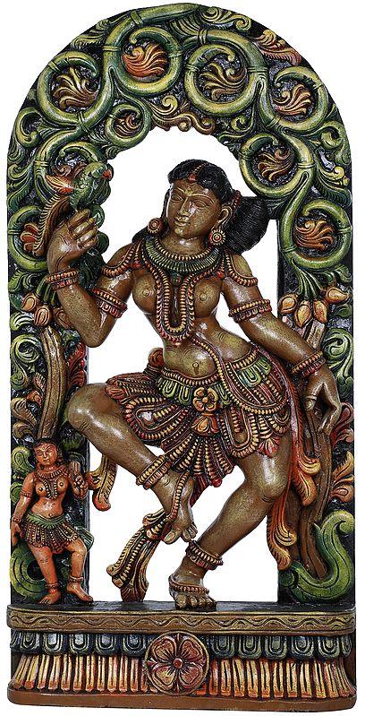 Khajuraho Nymph: Remembrances Of An Admirer