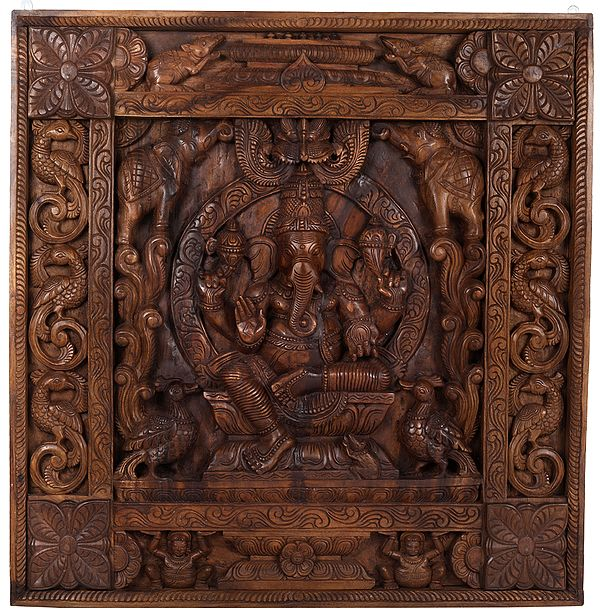 Gaja Ganesha Panel