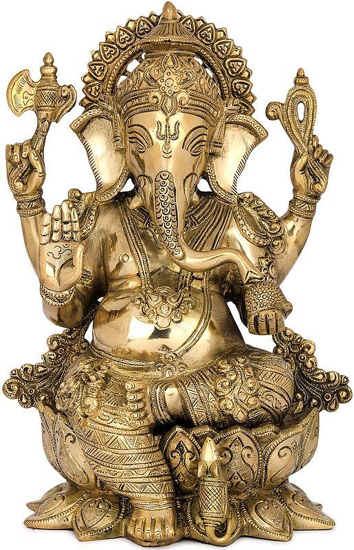 Ashirwad Kamalasana Ganesha