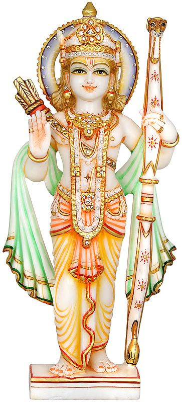 Blessing Lord Rama