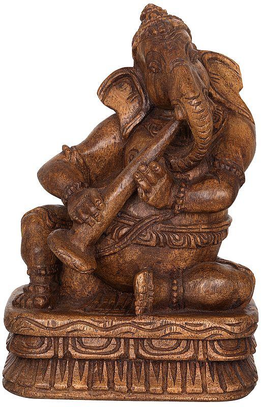 Ganesha Playing Shehnai