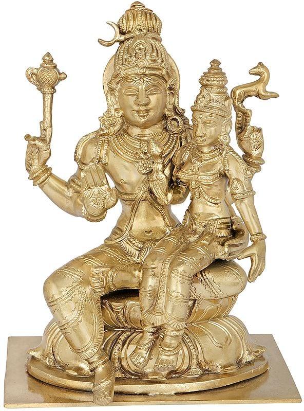 Pashupatinath Shiva With Devi Parvati