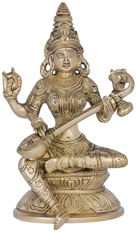 Saraswati - The Hindu Goddess of Wisdom