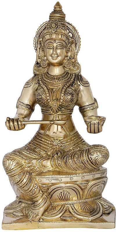 Devi Annapoorna - The Goddess of Food and Nourishment
