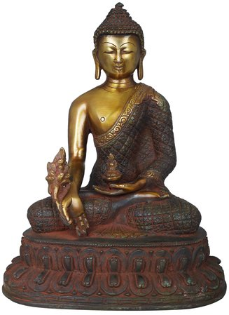 Tibetan Buddhist Healing Buddha (Medicine Buddha)