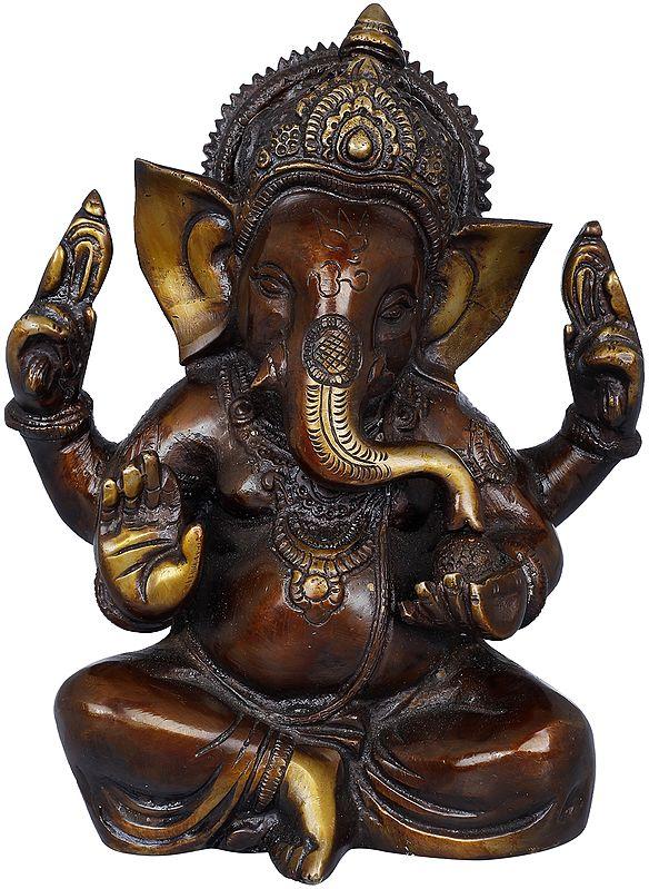 Seated Bhagawan Ganesha