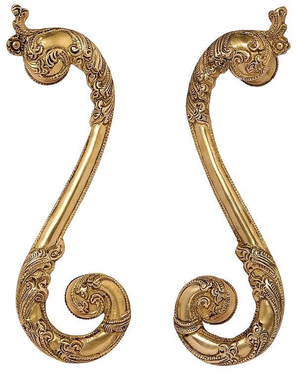 Designer Ornamented Door Handles