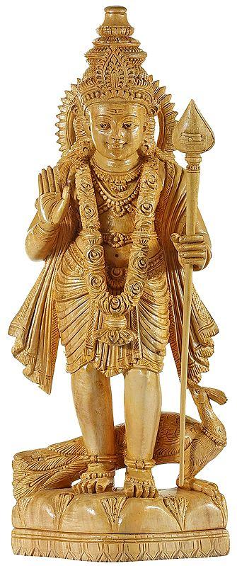 Standing kartikeya Blessing of Fearlesness