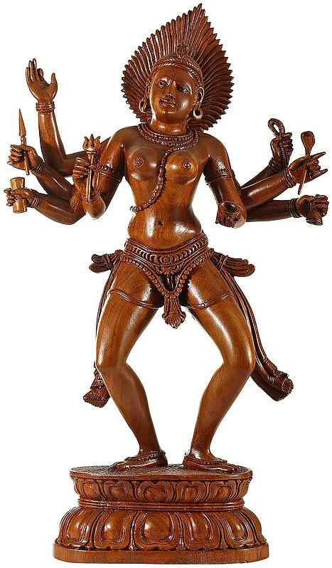 The Naked Splendour Of Devi Kali