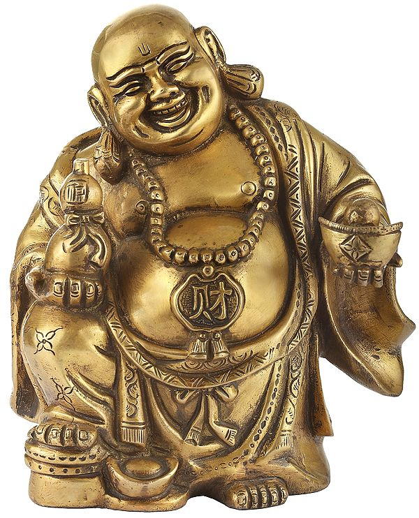 Laughing Buddha as a Wealth Giver (Vastu Compliant)