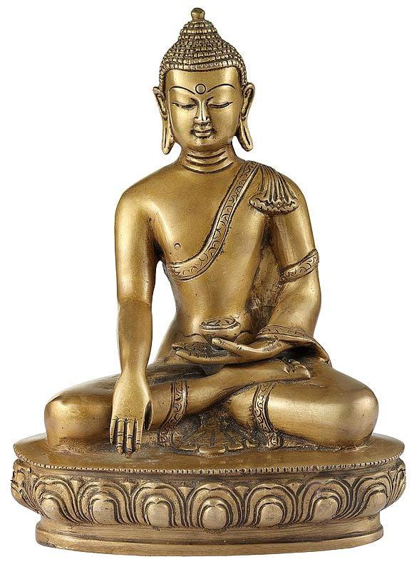 Bhumisparsha Lord Buddha (Tibetan Buddhist)