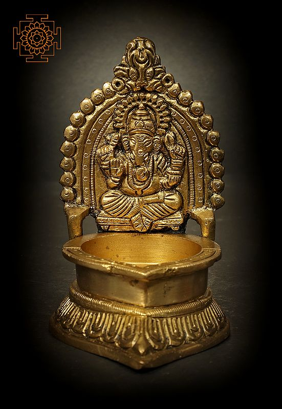 Lord Ganesha Small Oil Lamp