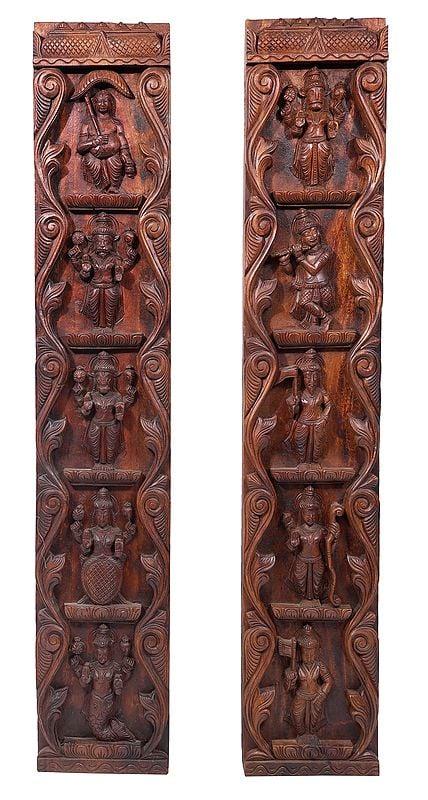 Twin Dashavatara Panels