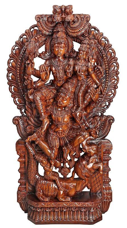 Large Superfine Gajendra Moksha