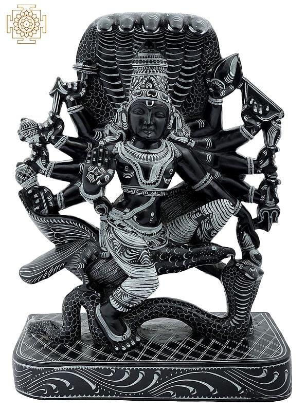 Bhagawan Perumal (Vishnu) on Garuda