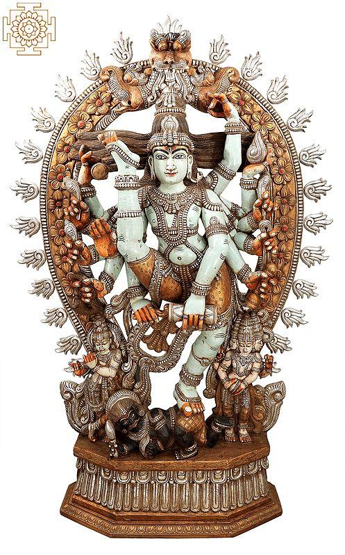 "88"" Superfine and Super Large Urdhava Tandava (Shiva Tandava)   Dancing Shiva Statue   Natraj Statue   Lord of The Dance   Shiva Statue  Lord Nataraja  "