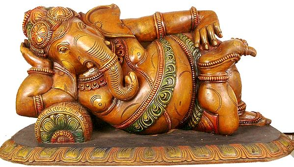 A Pleasant and Delightful Image of Lord Ganesha