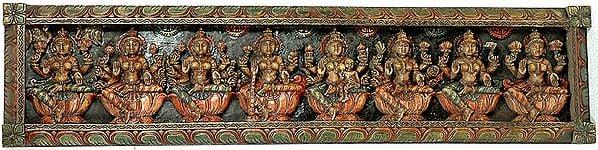 Auspicious Ashtalakshmi Panel