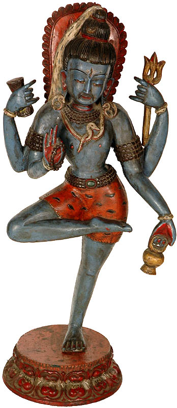 Blessing Shiva in a Yogic Posture
