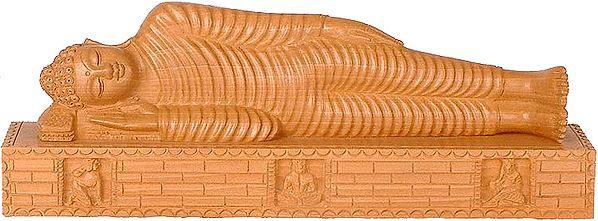 Buddha under Maha Parinirvana