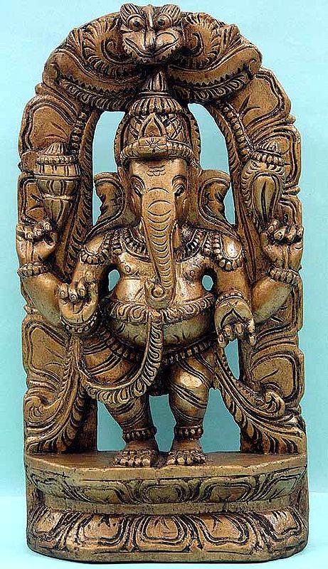 Dwibhanga Position of Ganesha