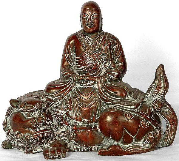 Tibetan Buddhist Deity Bodhisattva Kshitigarbha