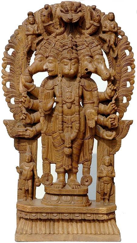 Five-Faced Hanuman