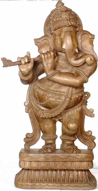 Fluting Ganesha