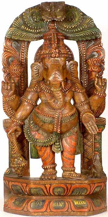 Four-Armed Standing Ganesha