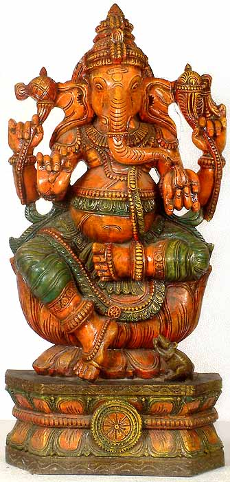 Ganesha in Lalitasana